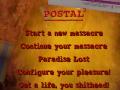 ZeaZolf's Custom POSTAL 2 Menu Text (Steam)