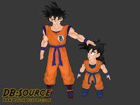 Goku & Chibi Gohan