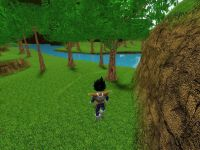 Vegeta In Flight