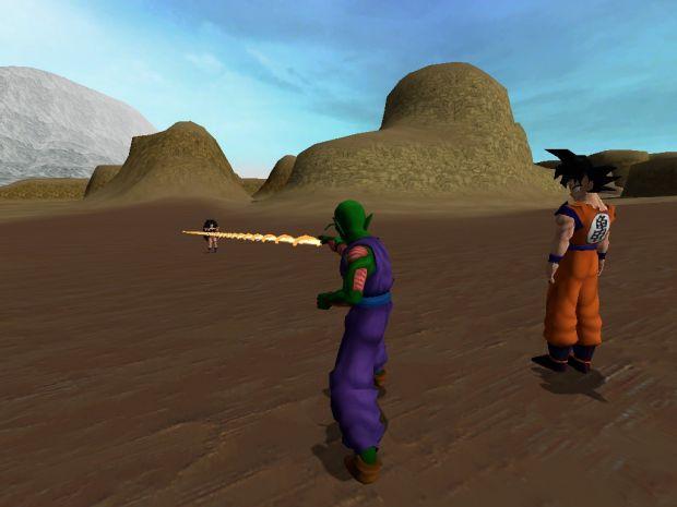 Goku & Piccolo vs Raditz