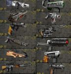 Some of weapons