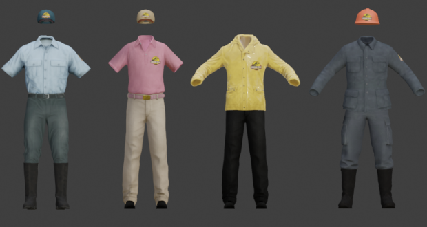 Character clothes by MOMO