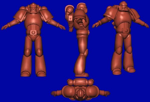 Space Marine - Work In Progress