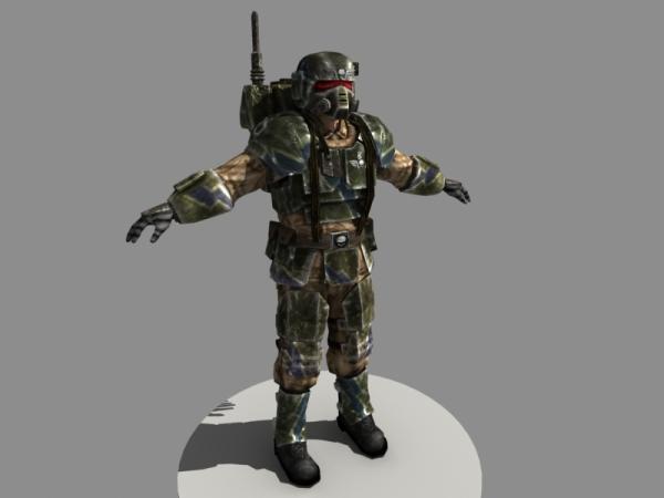 cadian kasrkin image - battlefield 40k