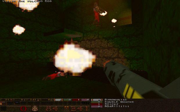 Flamethrowers are fun.