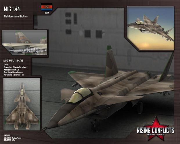 MiG 1.44 Multifunctional Fighter
