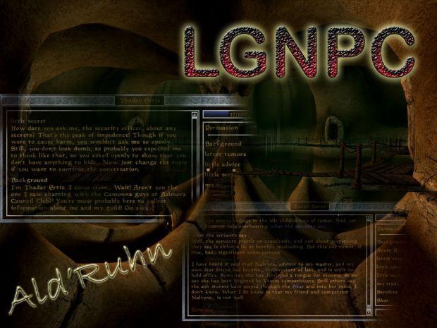 LGNPC Ald'ruhn Poster