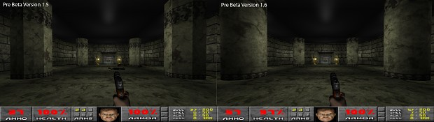 Pre Beta Version 1.6 Comparison