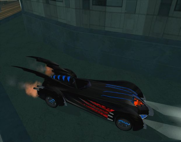 1997 Batmobile image - GTA: Gotham City mod for Grand Theft
