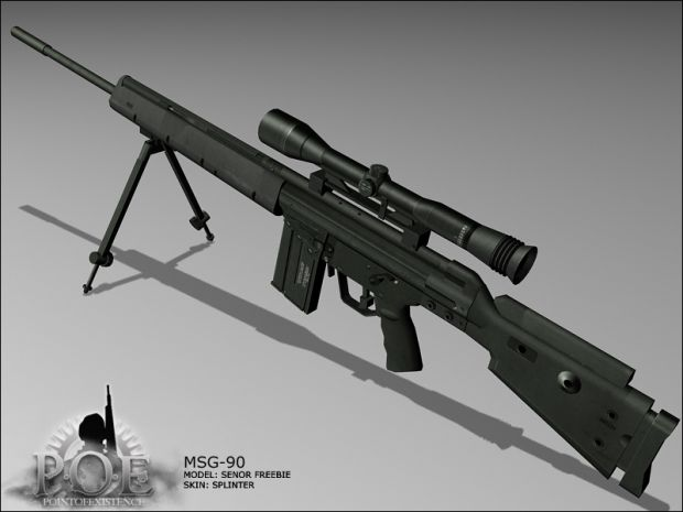 North State Auto >> HK MSG-90 Sniper Rifle image - Point of Existence: 2 mod for Battlefield 2 - Mod DB