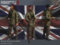 British Airborne Playermodels