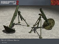 PM-43 120mm Mortar