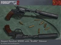 Nagant M1895 with BraMit Suppressor