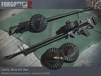 Lewis Aircraft Gun