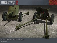 45mm Anti-Tank Gun M1937