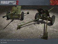 45mm Anti-Tank Gun M1942
