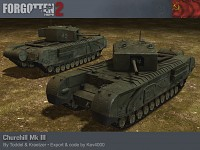 Lend Lease Churchill Mk III