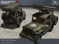 The Willys MB Calliope