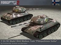 Finnish Captured T-34-85