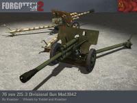 76mm ZIS-3 Divisional Gun mod.1942