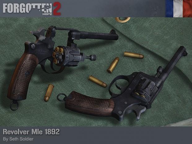 Revolver Mle 1892
