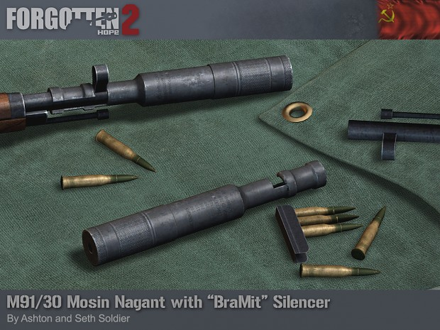"Mosin Nagant M1891/30 with ""BraMit"" Suppressor"