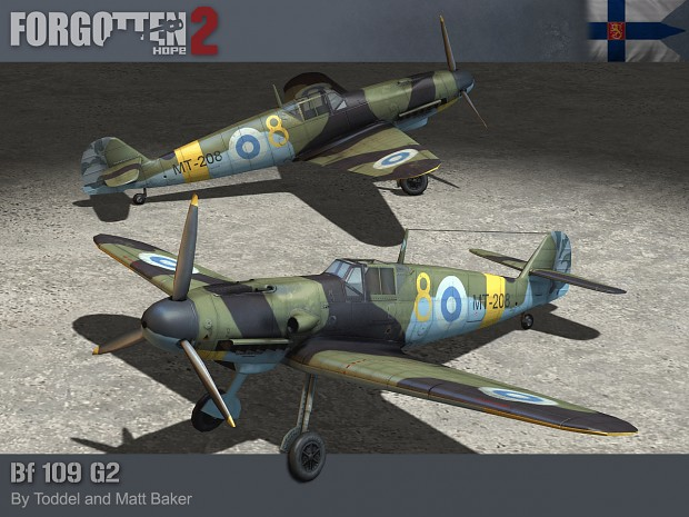 """Messerschmitt BF 109G-2 """"Mersu"""""""