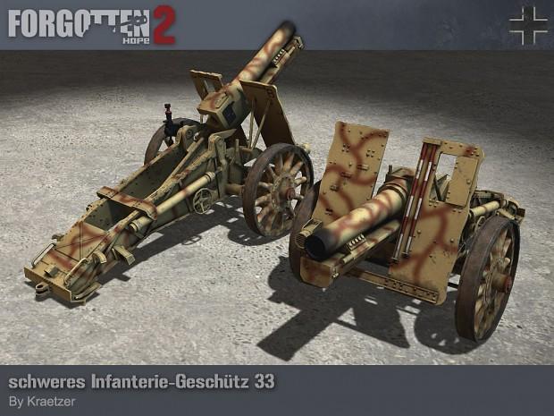 schweres Infanterie-Geschutz 33