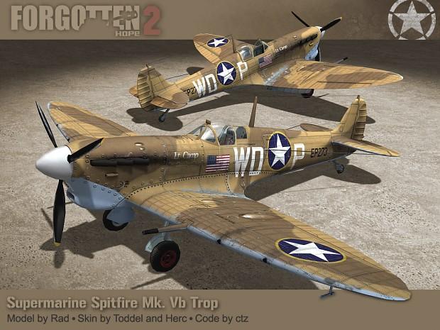 spitfire mk vb trop - photo #12
