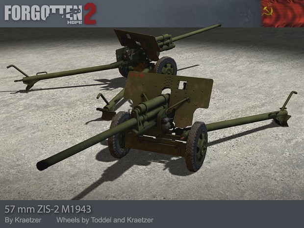 57mm Anti-Tank Gun M1943