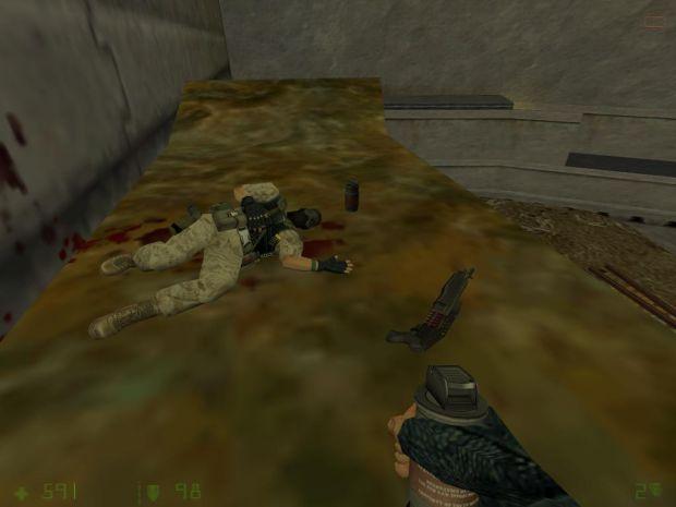 Dead Marine