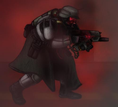 Shock Trooper Art