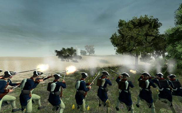 Traditional Warfare - Line versus Line