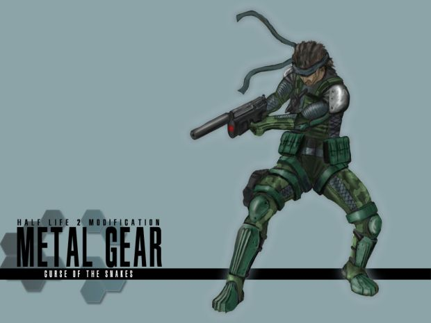 Solid Snake Concept Art Image Metal Gear Curse Of The
