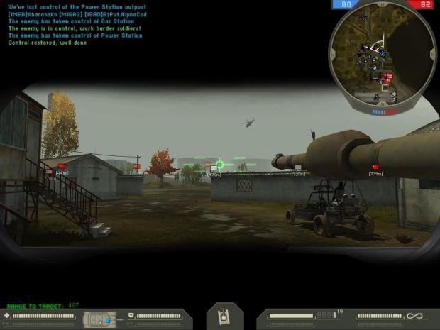 Tank HUD