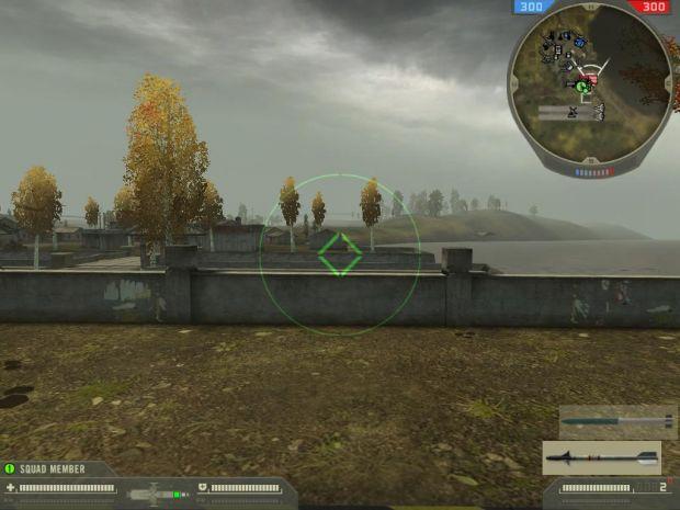 Attack Heli HUD 2