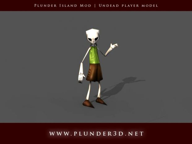 Undead player model
