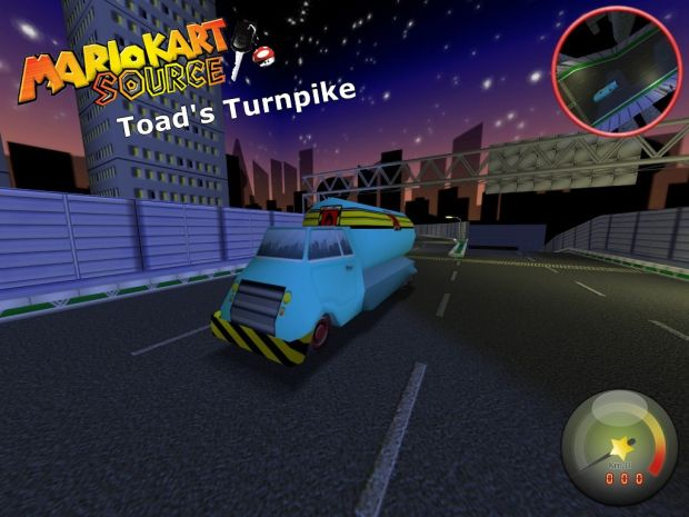 Race Map Toad S Turnpike Image Mario Kart Source Mod