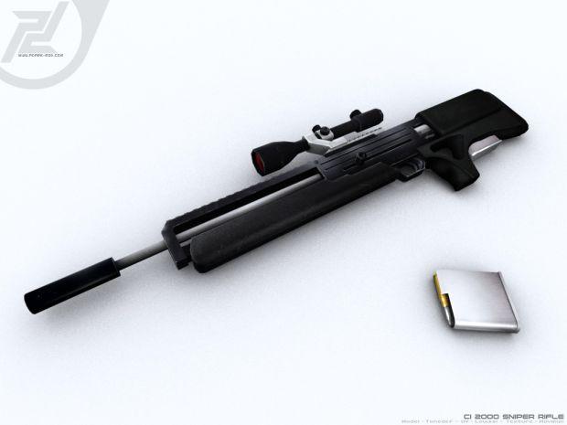 Skinned CI 2000 Sniper