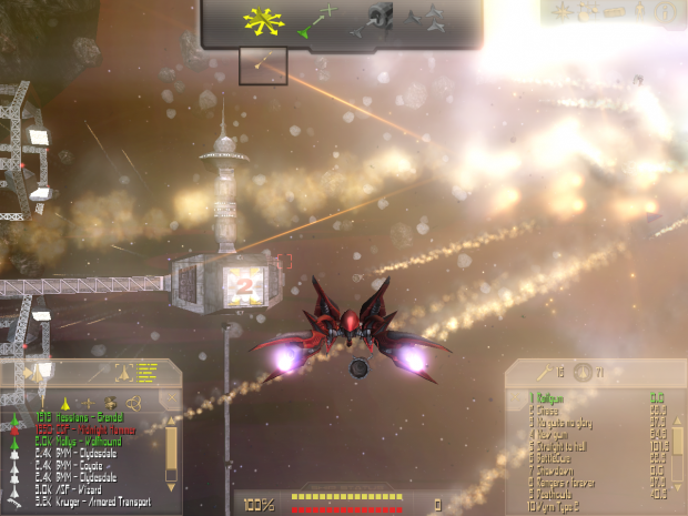 Crossfire 1.9 interface