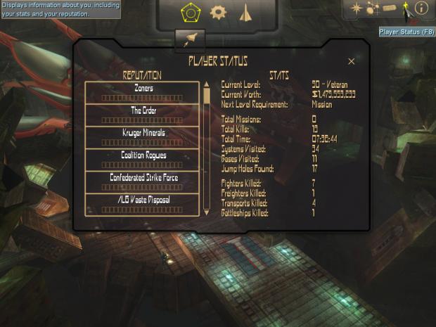 Crossfire 1.9 interface