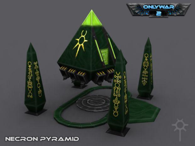 Necron Pyramid Image Only War 2 Mod For C Amp C3 Tiberium