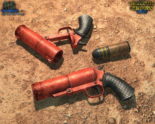 Ballistic Weapons renders