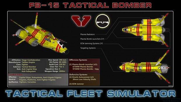 Vaygr Tactical Bomber (FB-15)