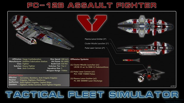 Vaygr Assault Fighter (FC-12B)
