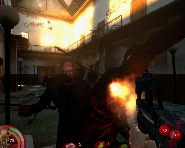 zombie en action !