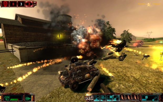 Alpha testing screenshots
