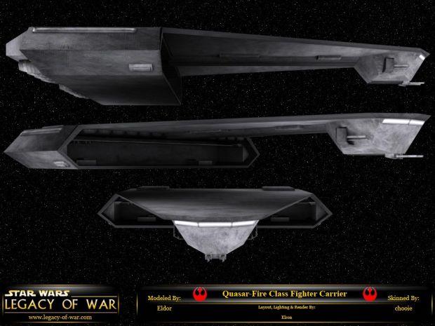 Quasar Fire Carrier
