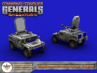 Microwave Humvee for General Alexander