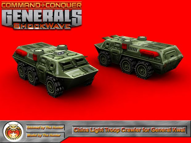 Light Troop Crawler for General Kwai